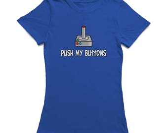 Push My Buttons Joystick Women's T-shirt