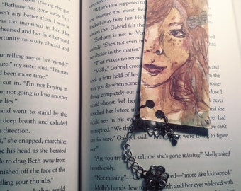 Bookmark- Hand drawn with charm