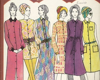 ON SALE Golden Hands Encyclopaedia of Knitting Dressmaking and Needlecraft Guide Part  42 1970s