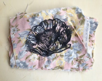 Bread seed Poppy Floral Patch