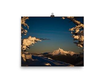 Mt. Thielsen in Sunset Colors