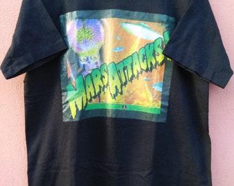Vintage Horror movie mars attacks T Shirt Rare