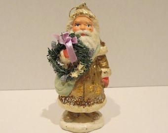 Ceramic Santa Claus Ornament