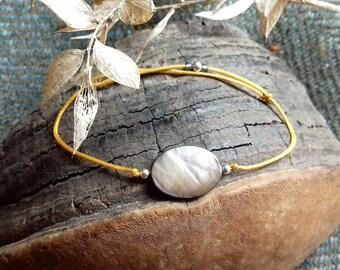 Bracelet gemstone Agate
