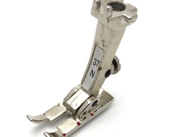 """1/4"""" Presser Foot #0084747000 (#37N) For Bernina Sewing Machine New Style"""