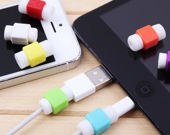 4 protectors cables usb iPhone iPad or other
