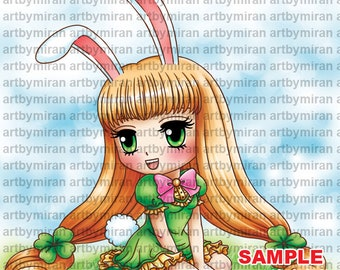 Digital Stamp -Cotton Candi(#341), Digi Stamp, Coloring page, Printable Line art for Card and Craft Supply