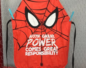 Spider Man Childs Apron