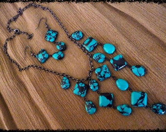 Eye Catching Composite Turquoise Set