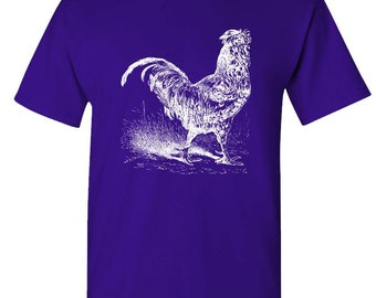 ROOSTER - t-shirt short or long sleeve your choice!