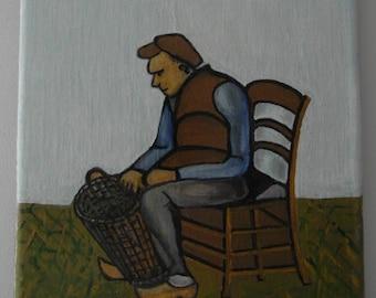 J. Overbeek, Cane weaver: Art Brut - Naïeve - outsider art