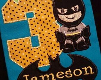 Batman Batboy Birthday Shirt