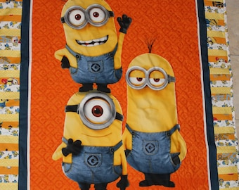 Minions Child's Quilt