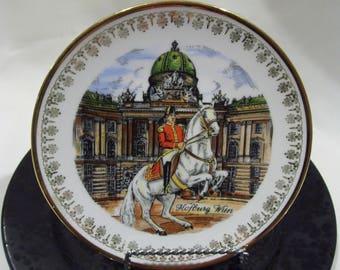 Hofburg Palace Wien Austria Souvenir Plate,Travel, Collectors Plate,European,Plate Baraque Architecture