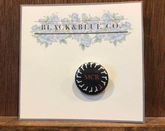 My Chemical Romance Pin Back Button