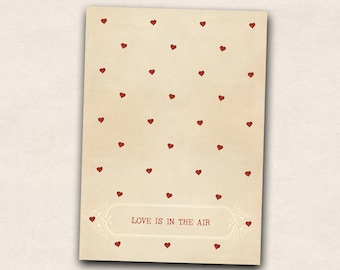 Postcard: Love is in the air