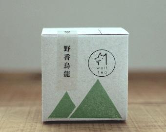 Wild Scented Oolong Tea / Flower Aromas / Wolf Tea / Loose Tea / Loose Leaf / Single-Origin