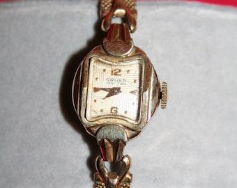 Ladies Vintage Gruen Watch