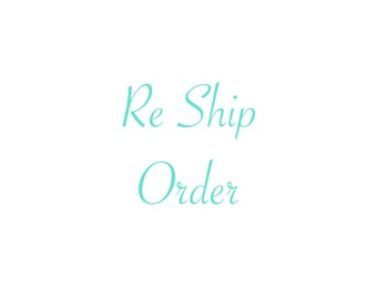 Re Shipping of Order