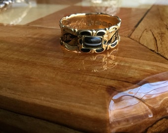 Banded Agate Memorial Band