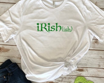 St Pattys Day Shirt, St. Pattys Day, St Pattys Womens, Four Leaf Clover, Shamrock Shirt, Irishish, Glitter, St Patricks Day, St Pattys Day