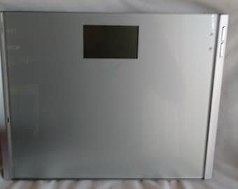 Taylor The Biggest Loser Glass Top Digital Bathroom Scale-Large Numbers-Cal Max