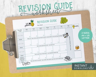 Student Planner, Daily Planner, Back to School, 2017 Planner Weekly, School Planner, Student 2017 2018, College Planner, Study Daily Planner