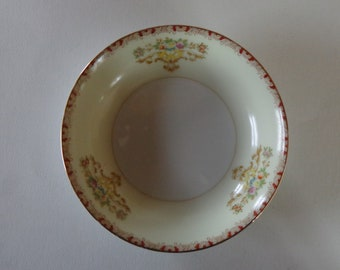 "Meito China 5 1/4"" Berry/Dessert Bowl HAND PAINTED Made in Japan"