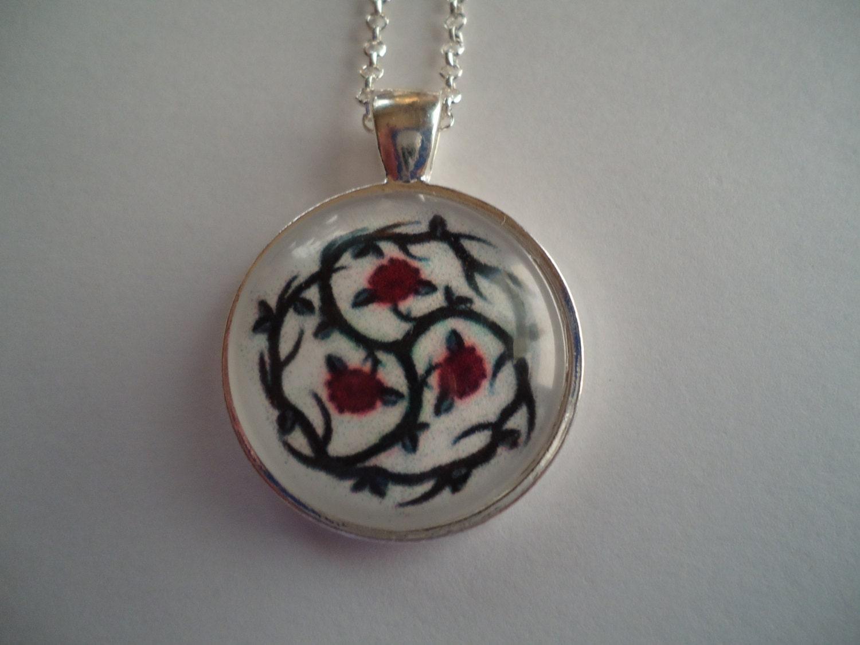 Rose symbol necklace bdsm rose symbol necklace biocorpaavc Gallery