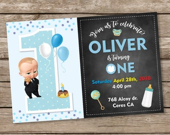 Chef-Baby-Geburtstags-Einladung Chef Babyparty einladen Chef
