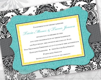 Wedding invitations formal wedding invitations wedding wedding invitations turquoise wedding invitations formal wedding invitations turquoise bridal shower invitations filmwisefo