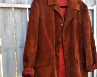 Vintage Alpine by Jedsons Brown corduroy jacket