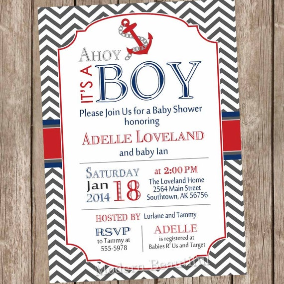 its nautical listing sailboat s ahoy baby invitation invitations jdkb shower a it il boy