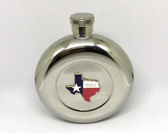 State of Texas Flask – Color