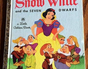 Snow White - A Little Golden Book - 1948