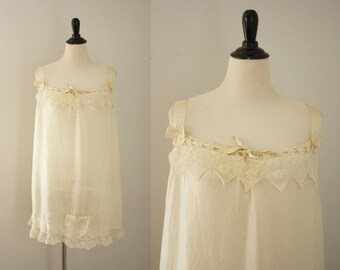 1920s step in | vintage 20s silk lingerie