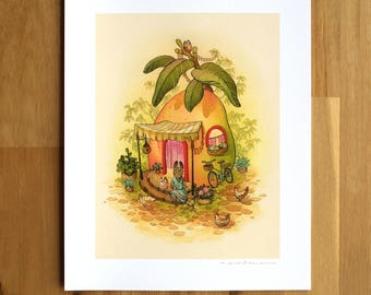 Mango House - Fine Art Print by Nicole Gustafsson