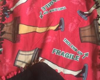 Christmas Story Fleece Blanket