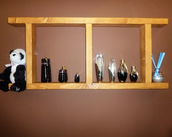 wooden shelf, ladder shelf, shelf