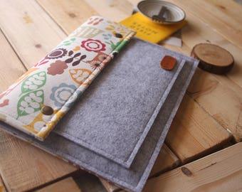 ipad case, Felt ipad sleeve, Unique Mixed pattern ipad sleeve bag for ipad, Sumsung Galaxy Tab, Google, Kindle BG01
