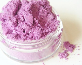 SAMPLE Purple Rain- All Natural Mineral Eyeshadow (Vegan)