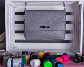 Leather crossbody Leather clutch Crossbody bag Leather bag Handbag Bridesmaid gift Gift for her Gift for women Leather crossbody bag