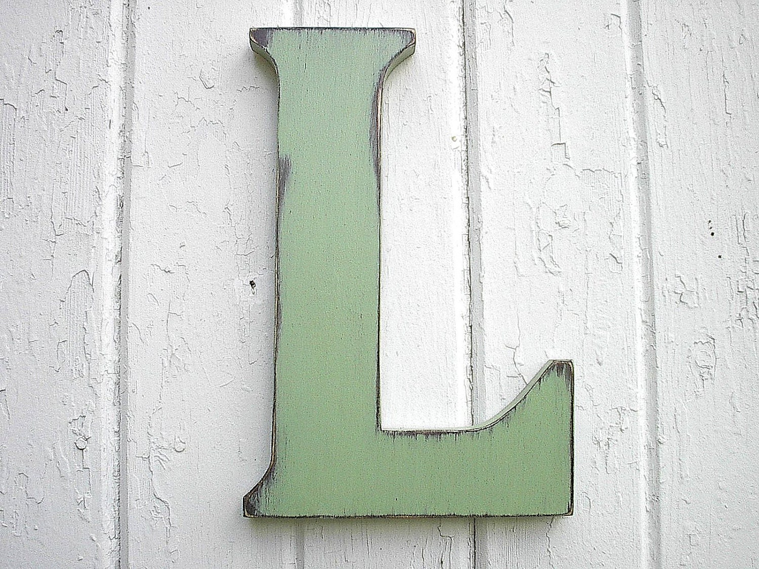 Letter E Wall Decor Wooden Letters Pale Green L 12 Big Dorm Letter Kids Wall