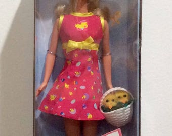 Vintage from 1999 Easter Treats Barbie never opened