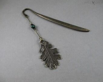 Ranger's Apprentice Oak Leaf Bookmark - Bronze