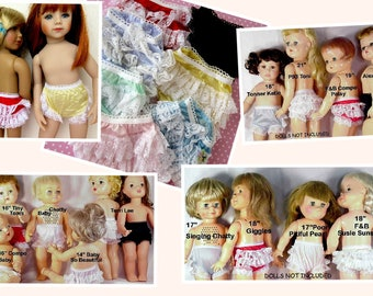 7 pair Rhumba Doll Panties Clearance Close Out lot Combine Orders 2 Save