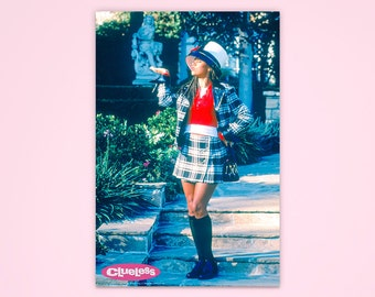 "Clueless Poster, ""Courageous Fashion Efforts"", Cher Clueless, Officially Licensed, Movie Poster"