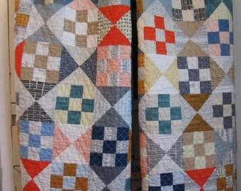 Twin Boy Quilts - Modern, Carolyn Friedlander Collections - Doe, Botanics, Architextures - Can be Purchased Separately