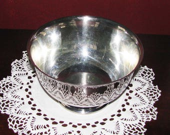 7-inch Paul Revere style silver bowl
