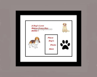 A Dog's Love Photo  Printable Instant DownLoad  Digital Dog Wall Art Pet Home Decor Dog Loss Gift Dog Remembrance Gift For Dog Owner